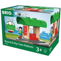 BRIO - Record & Play Train Platform (33840)