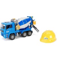 Bruder - MAN TGA 1638 Cement Mixer, with Helmet