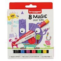 Bruynzeel Kids Magic Markers, 8pcs