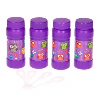Bubble blades Owls, 4pcs