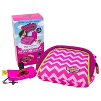 BubbleBum  Inflatable Childs Safety Booster Seat  Raspberry