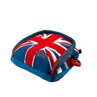 Bubble bum inflatable childs safety booster seat union jack
