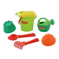Bucket with accessories, 7 pcs
