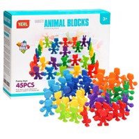 Building set animal olds 45 pcs