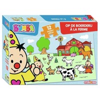 Bumba Puzzle At The Farm 12Psc