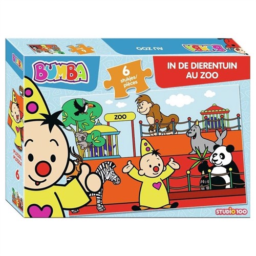 Bumba puzzle in the zoo 6 pcs