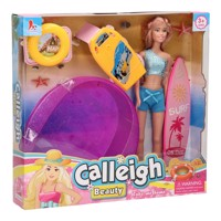 Calleigh - Surf Doll with Swimming Pool