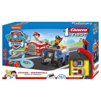 Carrera first racecourse paw patrol race rescue