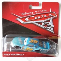 Cars 3 - Die Cast - Buck Bearingly (DXV68)