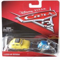 Cars 3 - Die Cast - Luigi & Guido (FJH93)