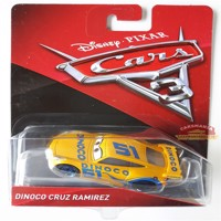 Cars 3 diecast dino co cruz ramirez