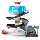 Cars Mini Racers Ruzeeze Spinning Race Track