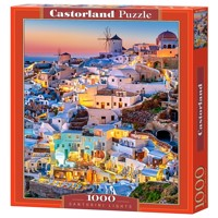 Castorland - Puzzle 1000 Pieces - Santorini Lights