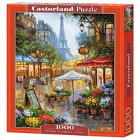 Castorland - Puzzle 1000 Pieces - Spring Flowers, Paris