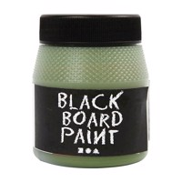 Chalkboard paint  Green, 250ml