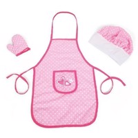 Classic World Kitchen Apron with Accessories, 3dlg