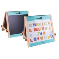 Classic World Wooden Magnet and Chalkboard