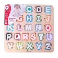 Classic World Wooden Puzzle Alphabet, 27st