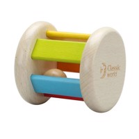 Classic World Wooden Rattle Round
