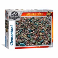 Clementoni Impossible Puzzle Jurassic World, 1000st