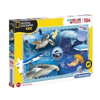 Clementoni National Geographic Puzzle - Ocean, 104pcs.