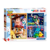 Clementoni puzzle toystory 3 x 48 st