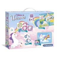Clementoni Unicorn Edukit, 4in1