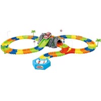 Clixtracks – 144 pcs Car Track incl. 1 Car