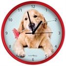 Clock Golden Retriever, 25cm