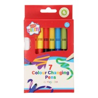 Color Changing Markers, 7pcs.