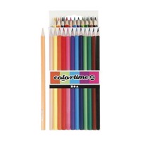 Colored pencils  Basic colors, 12pcs