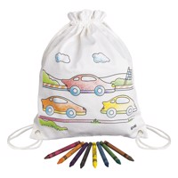 Color your own Backpack - Cars