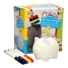 Color Your Own Piggybank