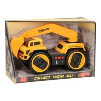 Construction vehicles with light & sound, digger