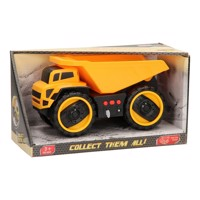 Construction vehicles with light & sound, dumptruck