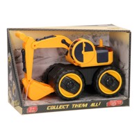Construction vehicles with light & sound, excavator