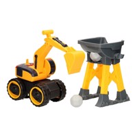 Construction Vehicles Light & Sound - Excavator Set