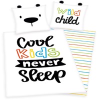 Coolkids never sleep Bedlinen 100 procent % cotton