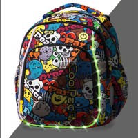 Coolpack Led Pack School Bag Cartoon
