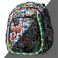 Coolpack Led Pack School Bag Grafitti