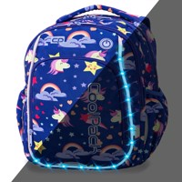 Coolpack Led Pack School Bag Unicorns