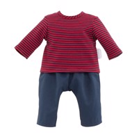 Corolle Mon Grand Poupon - Doll Outfit Striped