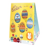 Craft set Easter eggs