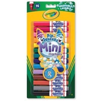 Crayola Mini Washable felttip pens, 14 pieces