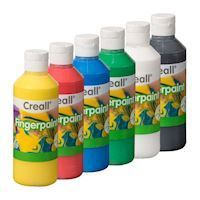 Creall Finger paint set 250 ml, 6 pcs