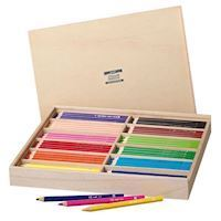 Creall Maxi Colored Pencils in Storage Box, 147 pcs