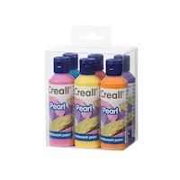 Creall Pearl paints Set 80 ml, 6 pcs