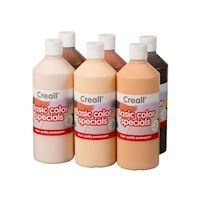 Creall School paint set Colors of the World, 6x500ml