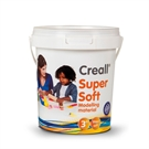 Creall Supersoft Clay 5 colors, 450gr.