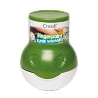 Creall Washable Finger Paint Green, 500ml